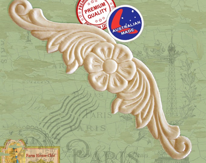 Shabby French Chic Furniture Mouldings, Resin Wood Furniture Appliques, Furniture Carvings, Furniture Decorations