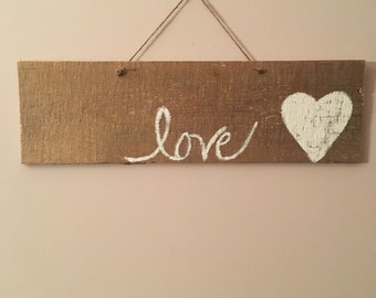 Simple Subtle Love Sign