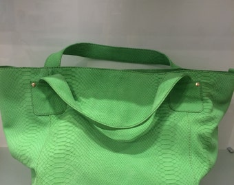 V&G Bag Green leather
