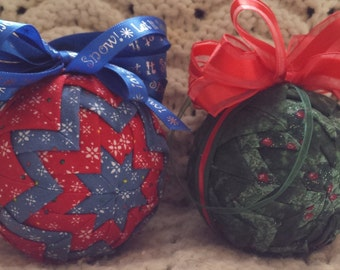 Quilted Ornaments (Item OR051)