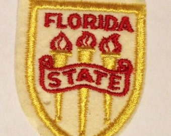 Vintage Florida State Patch