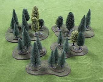 Deep Forest Stands & Flats Terrain Set