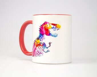 Funkosaurus Rex Mug, Dinosaur Mug, Jurassic Park, Jurassic World, T-Rex, Fossil, Christmas, Gift, Secret Santa, Fallen Kingdom,