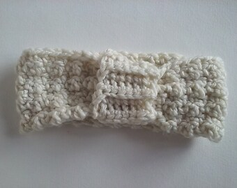 Crochet Chunky Headband Earwarmer