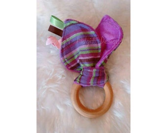 """Woven Wrap Teether """"Provence"""""""