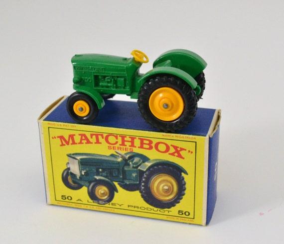 John Deere Matchbox Tractor : Regular series vintage matchbox toys number john deere