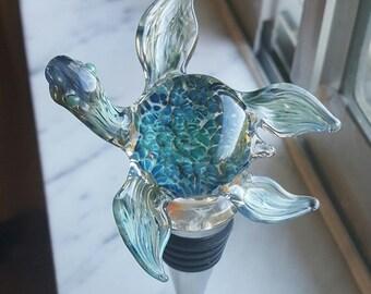 Happy Turtle Bottle Stopper