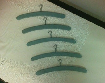 Antique Handmade Wooden Hangers