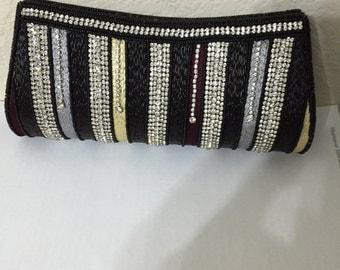 Sequin clutch purse