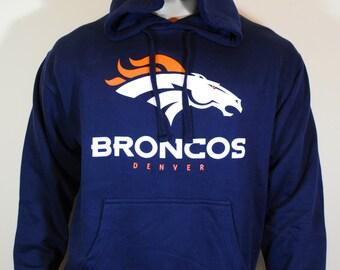 Denver Broncos Mens Hoodie Super Bowl Sweatshirt
