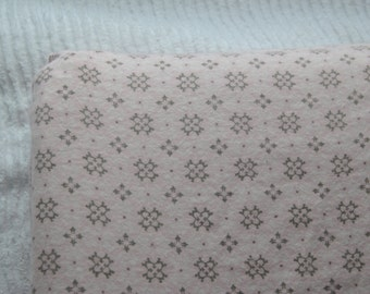 Pink and Grey Changing Pad Cover