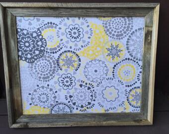 Fabric Bulletin Board, Framed Corkboard, Decorative Cork Boards, Framed Pinboard, Kids Artwork Display, Message Board, Decorative Pin Board