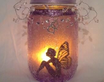 Lovely whimsical fairy light lantern