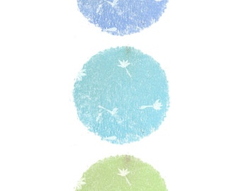 Circles Design Postcard