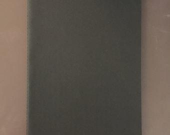 B4 notebook in black