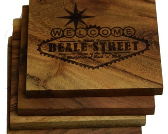 Welcome to Beale Street Sign Coasters