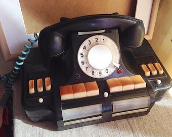 Soviet KGB phone, Kremlin phone, Party Boss Phone, Vintage Rotary Phone, Steampunk, Home Decor