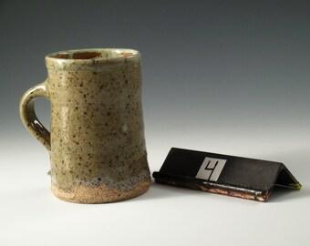 Ash Glazed Stoneware Mug #4