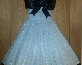 Baby Blue Easter Party Dress