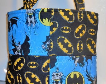 DC Comics Batman Diaper Bag Tote, Batman tote, Batman purse, DC Comics Batman Baby Bag, Comic book Superhero Baby Bag, Diaper Bag, Tote