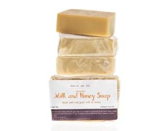 Milk and Honey handmade soap bar