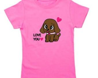 Girl's Pink T-shirt