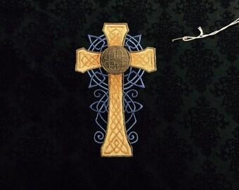 Altar Cloth - Celtic Cross