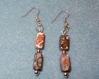 Leopard Jasper Earrings