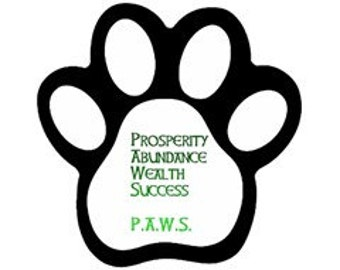 PAWS Magnet (Paw Print)
