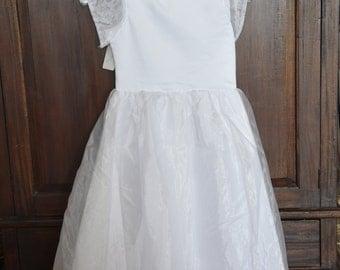 Easter Dress, childs size 4 dress, childs size 8 dress, little girl dress, special occasion dress, flowergirl dress, pagent dress, christmas