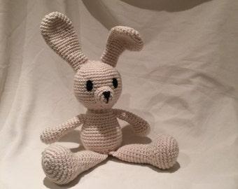 Handmade crochet Bunny. *Made to Order*