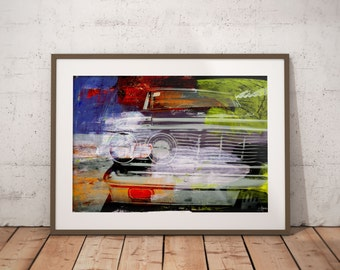 Asia Fragments I by Sven Pfrommer - Artwork is ready to hang with a solid wooden frame