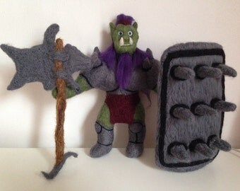 Orc Needle Felt - Made To Order