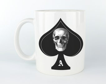 The Ace of Spades - 11 oz Coffee Mug / Tea Cup