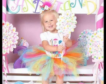 Candy land birthday outfit