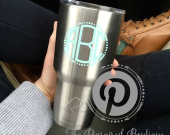 DECAL*Custom Vinyl Decal Sticker for Tumblers (Ozark, Members Mark, Yetti), vehicle window, laptop, cell phone cover or any smooth surface.