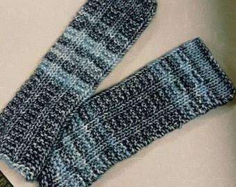 Handmade Knit Fingerless Typing Gloves
