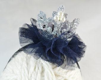 baby headband, crown headband, glitter crown headband, baby headbands, princess tiara, baby crown headband, silver crown, newborn headband