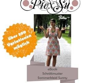 Pattern Summerdress Sunny Size 32 - 52