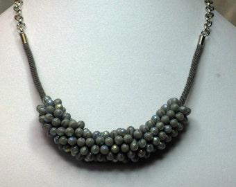 Elegant in Gray Necklace