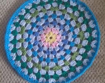 Granny Circle Mandala - handmade crochet