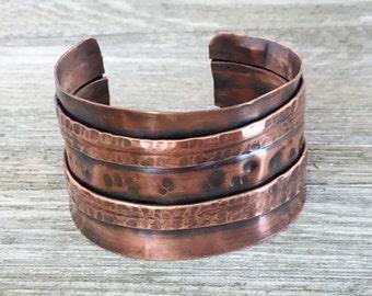 Two Fold Copper Cuff