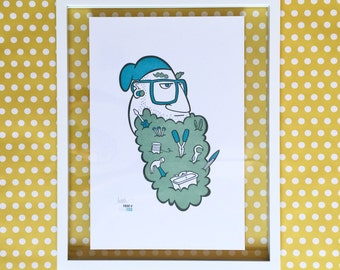 Tool Beard Limited Edition Poster