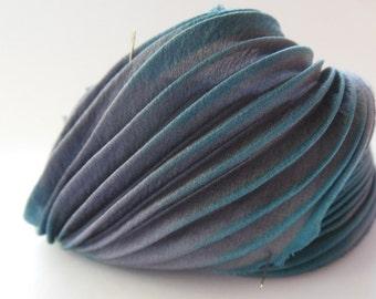 30cm Silk Shibori ribbon
