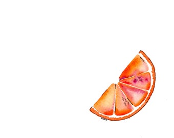 Blood Orange - Print