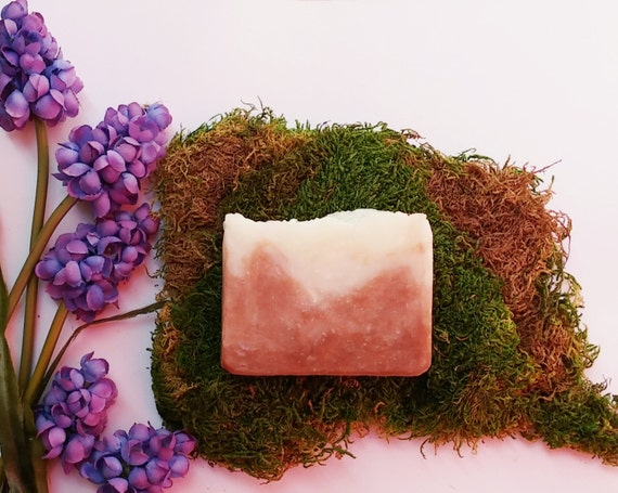 Organic Soap - Tropical Passion Fruit, Non GMO Cleansing Bar, Hawaiian KuKui Oil, Tropical, Moisturizing, Mild Soap Bar
