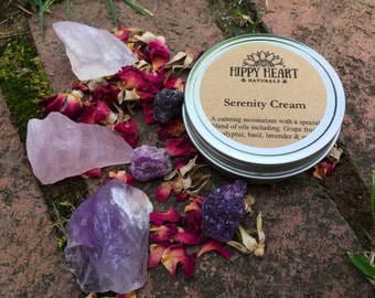Serenity cream- calming & healing moisturizer / relax / calm / meditate / aromatherapy