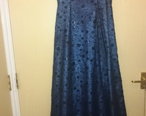 vintage ball gown from Morgan & Co by Linda Bernell size 8