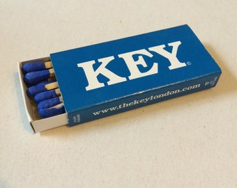 Promotional Matches From The Key Night Club