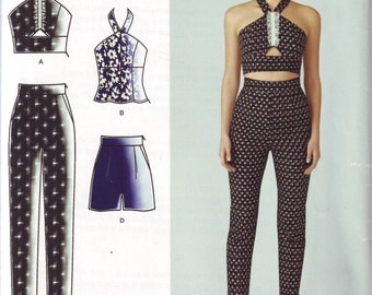 Women's UNCUT Cynthia Rowley Separates Pattern for Juniors by Simplicity in sizes 12-20 From 2014